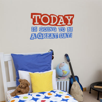 great day wall decal