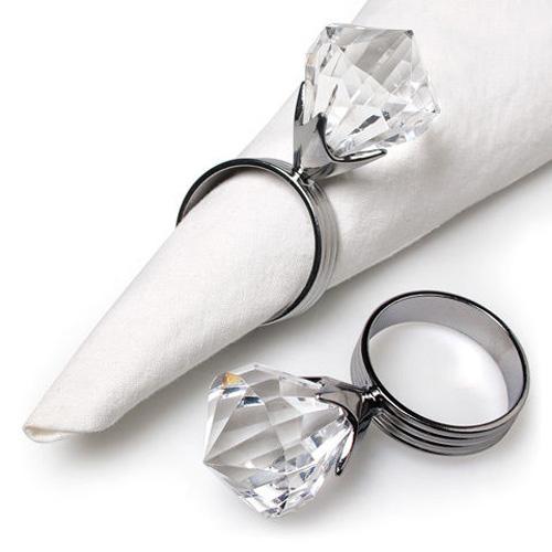 חבקי מפיות טבעת יהלום