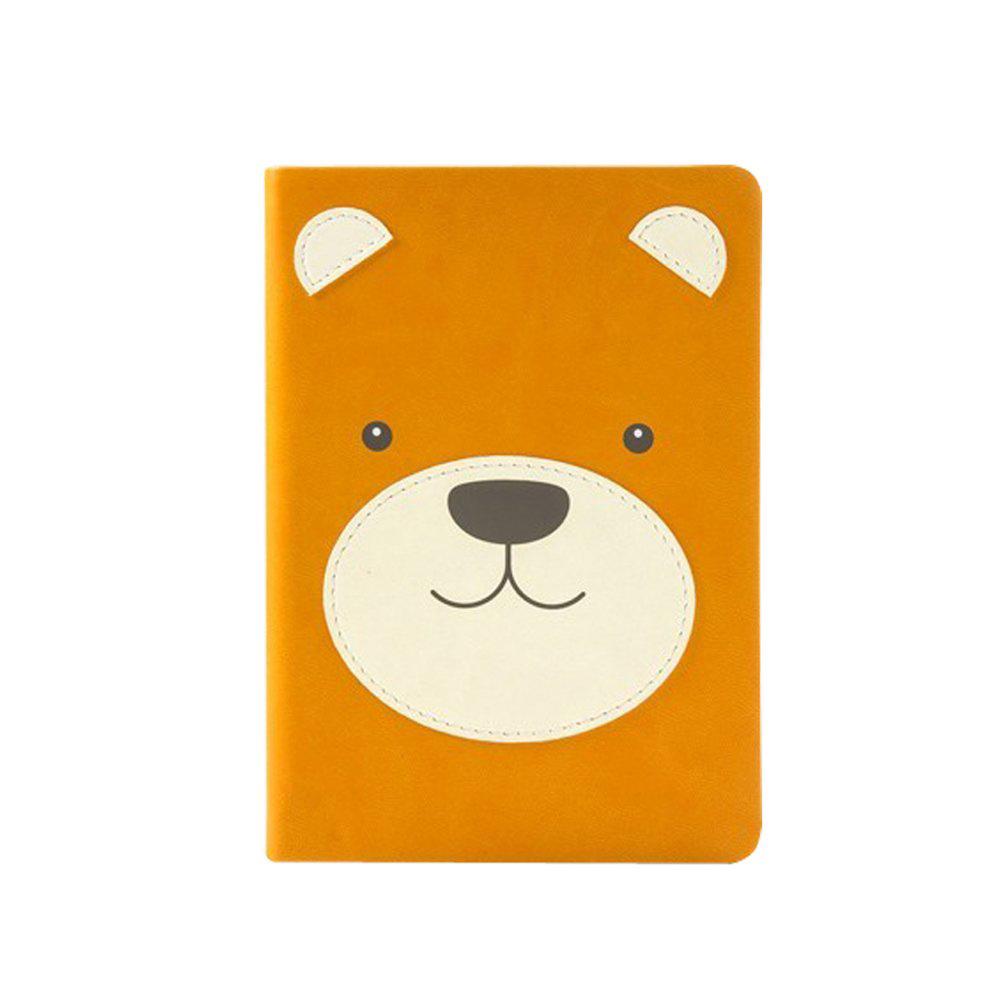 מחברת A6 מעוצבת דוב Animal Pals Bear