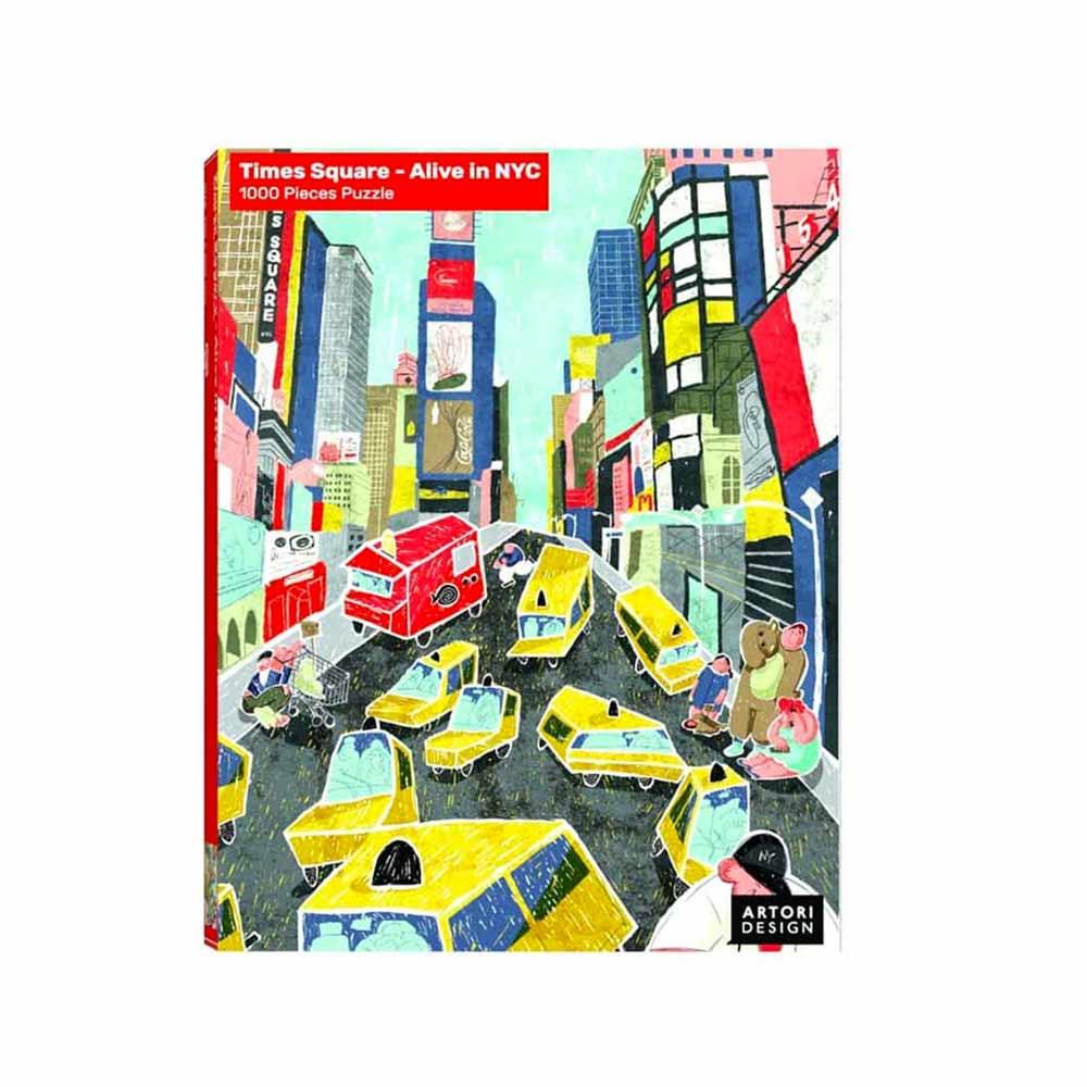 פאזל 1000 חלקים – טיימס סקוור ניו יורק