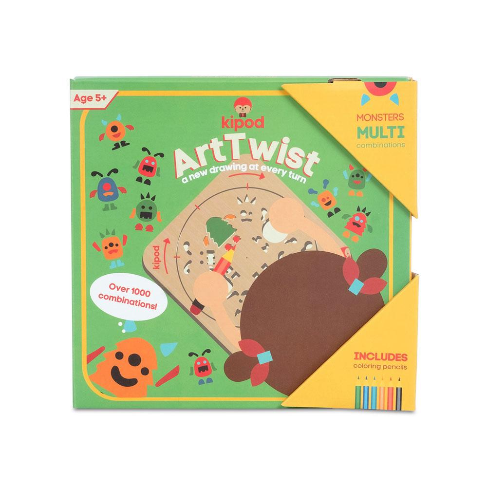 ארטוויסט - שבלונות ציור מפלצות