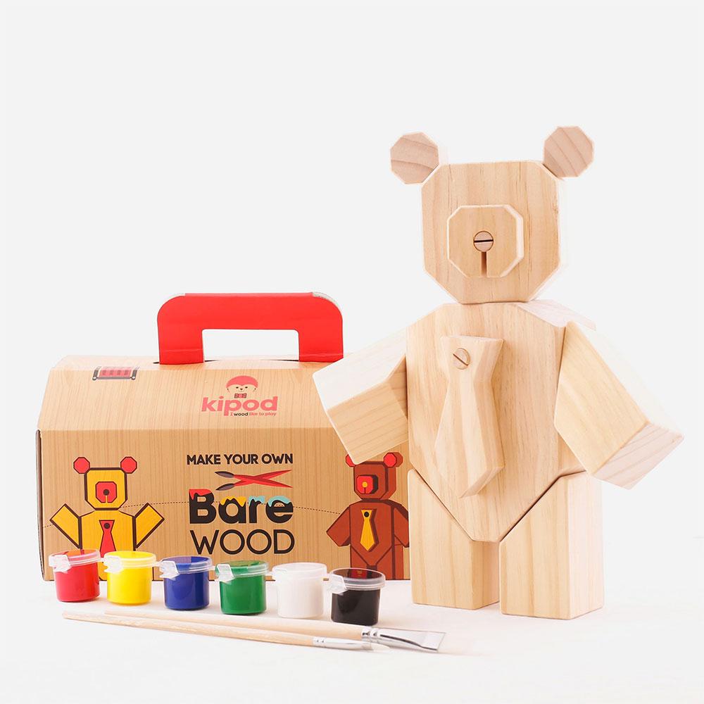 דובי-עץ - פאזל יצירה תלת מימדי