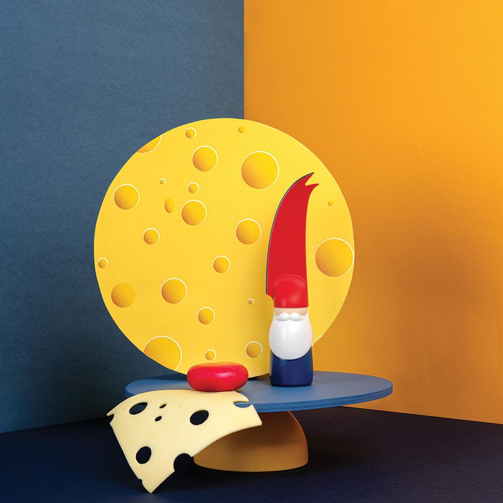 סכין גבינות ברט Bert