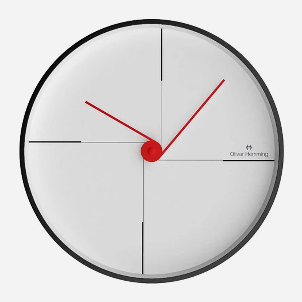 שעון קיר Matt Black