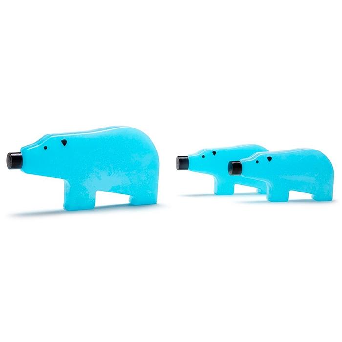 קרחומים בצורת דובים -  Blue Bear Family