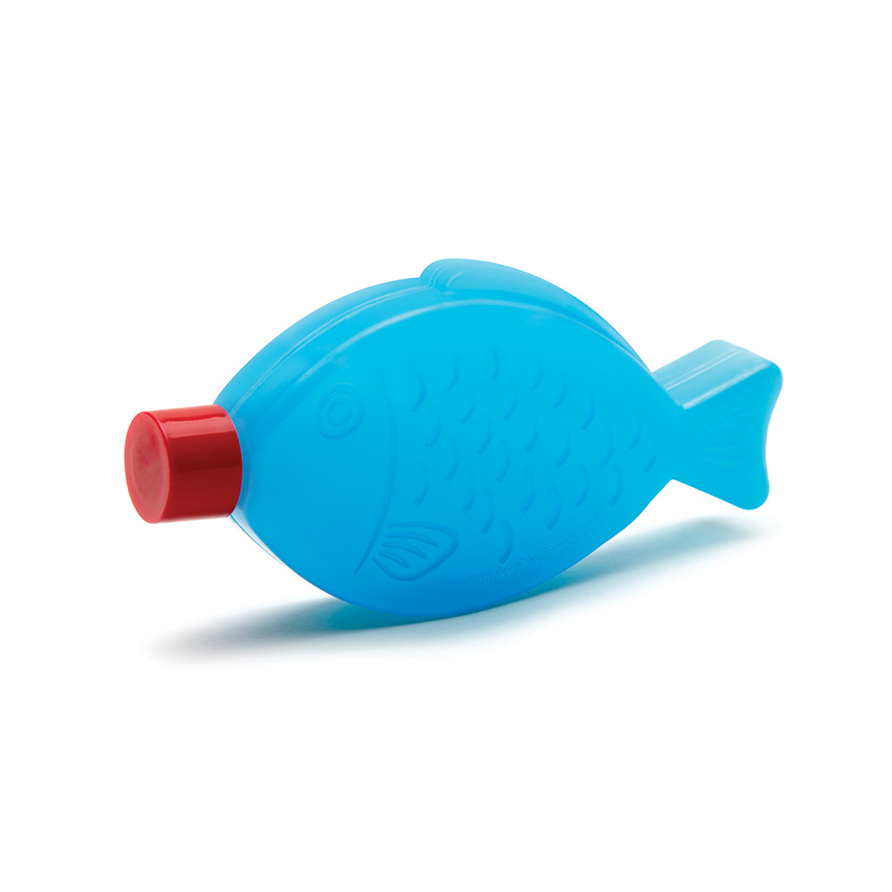 קרחום בצורת דג Blue Fish