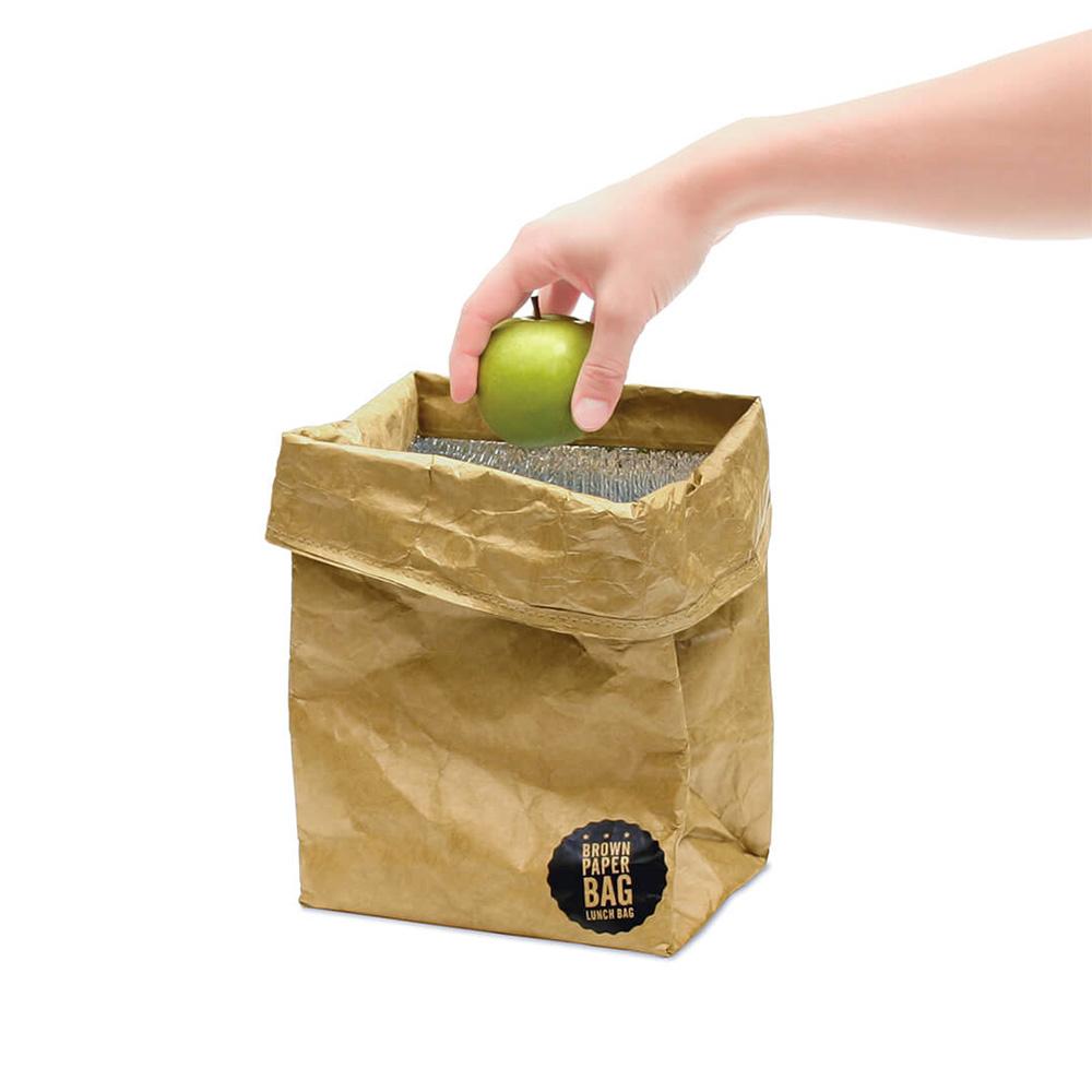 תיק אוכל בעיצוב שקית נייר