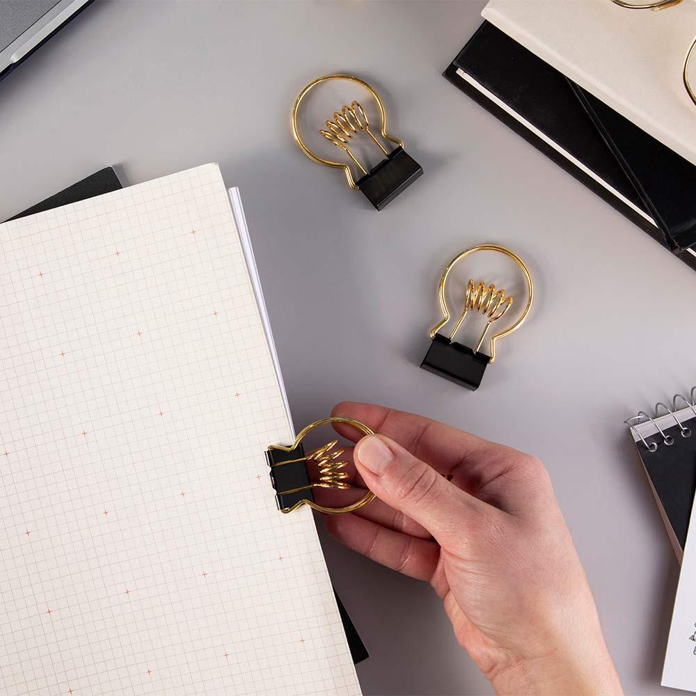 אטב ומחזיק עט Clipbulb
