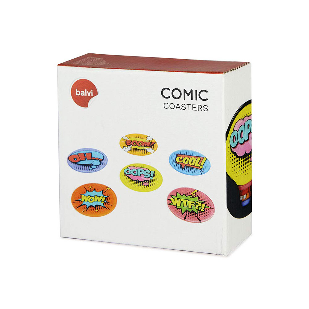 תחתיות קומיקס Comic Coasters