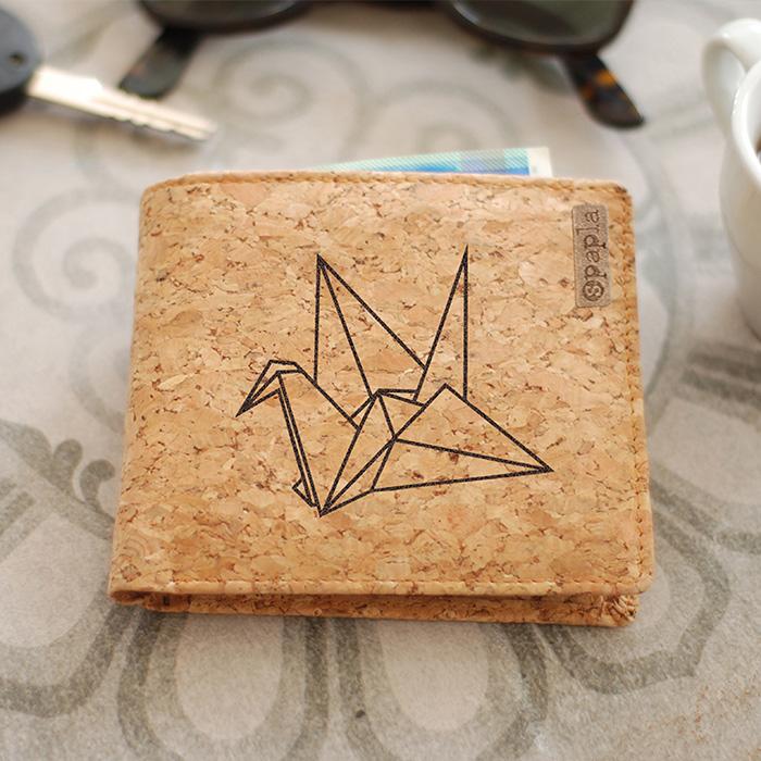 ארנק שעם - ציפור אוריגמי