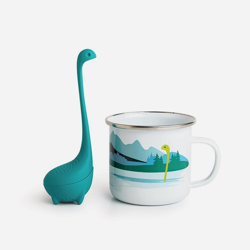 חולט תה וספל Cup of Nessie