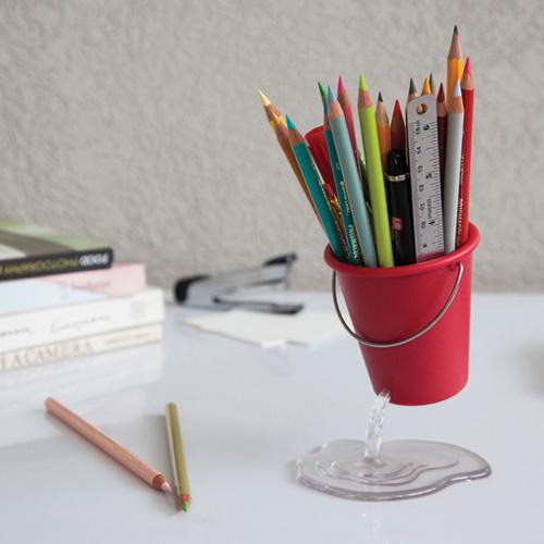 Desk Bucket דלי שולחני לכלי כתיבה