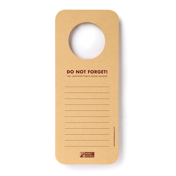 פנקס לדלת Doorhanger Notepad