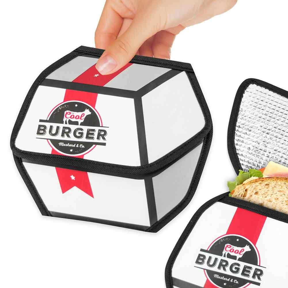 שקית אוכל תרמית המבורגר