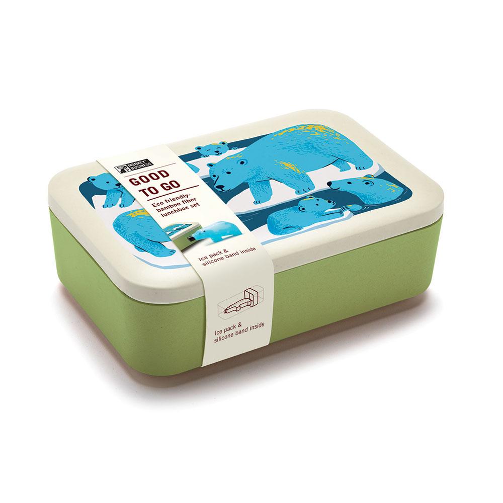 קופסאת אוכל וקרחום דב Good To Go Lunchbox