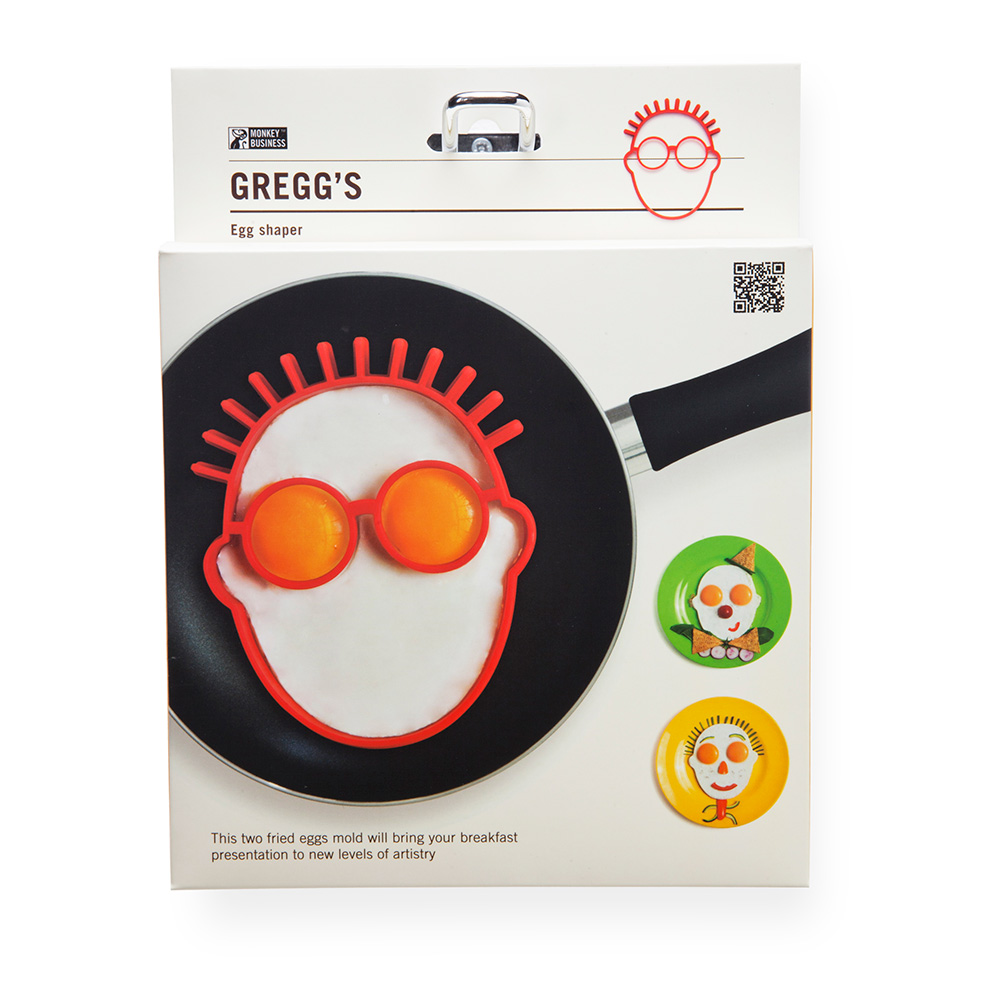 Gregg's - תבנית לביצים