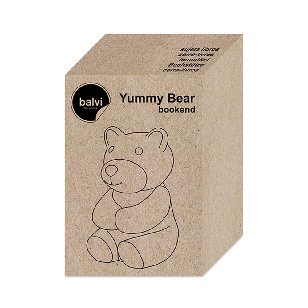 תומך ספרים דובון גומי Yummy Bear Bookend