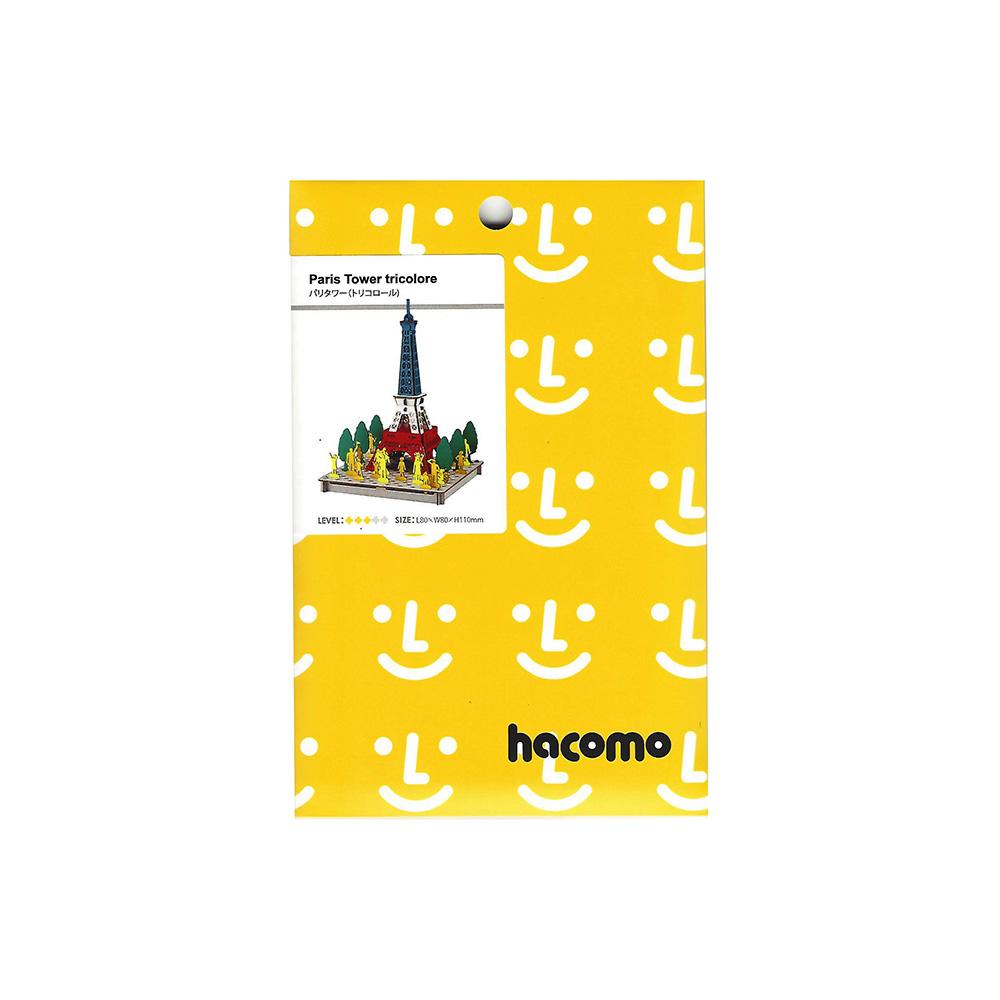 מגדל אייפל להרכבה בתלת-ממד - אומנות יפנית בקרטון