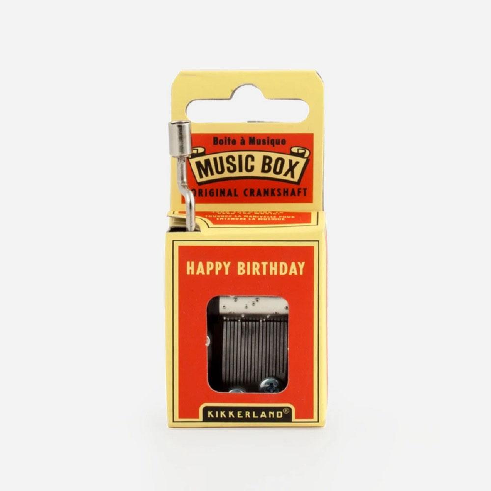 תיבת נגינה Happy Birthday