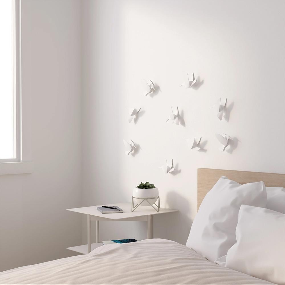 קישוט לקיר ציפורים
