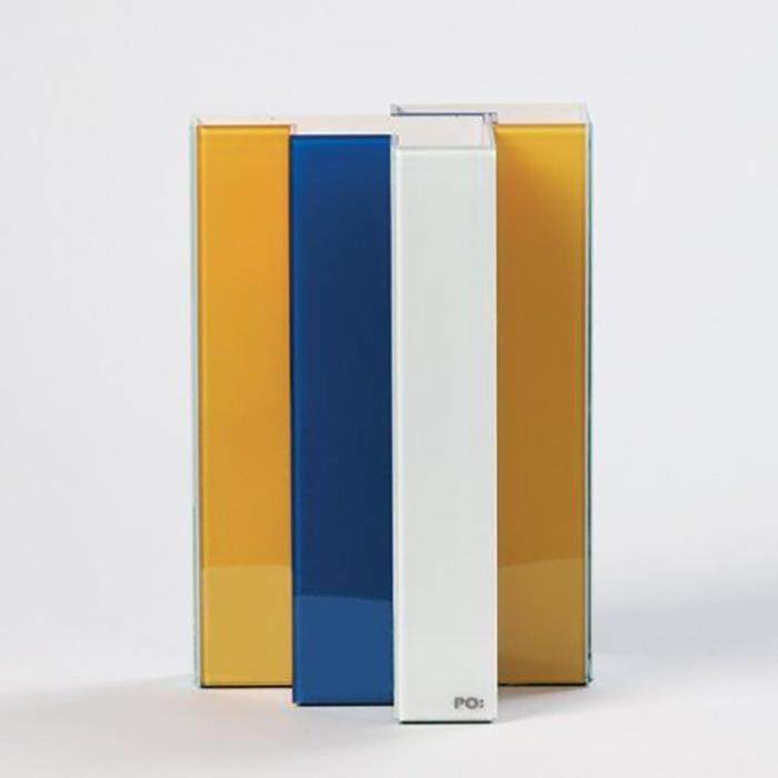 אגרטל מונדריאן חצוי Line-Up Vase