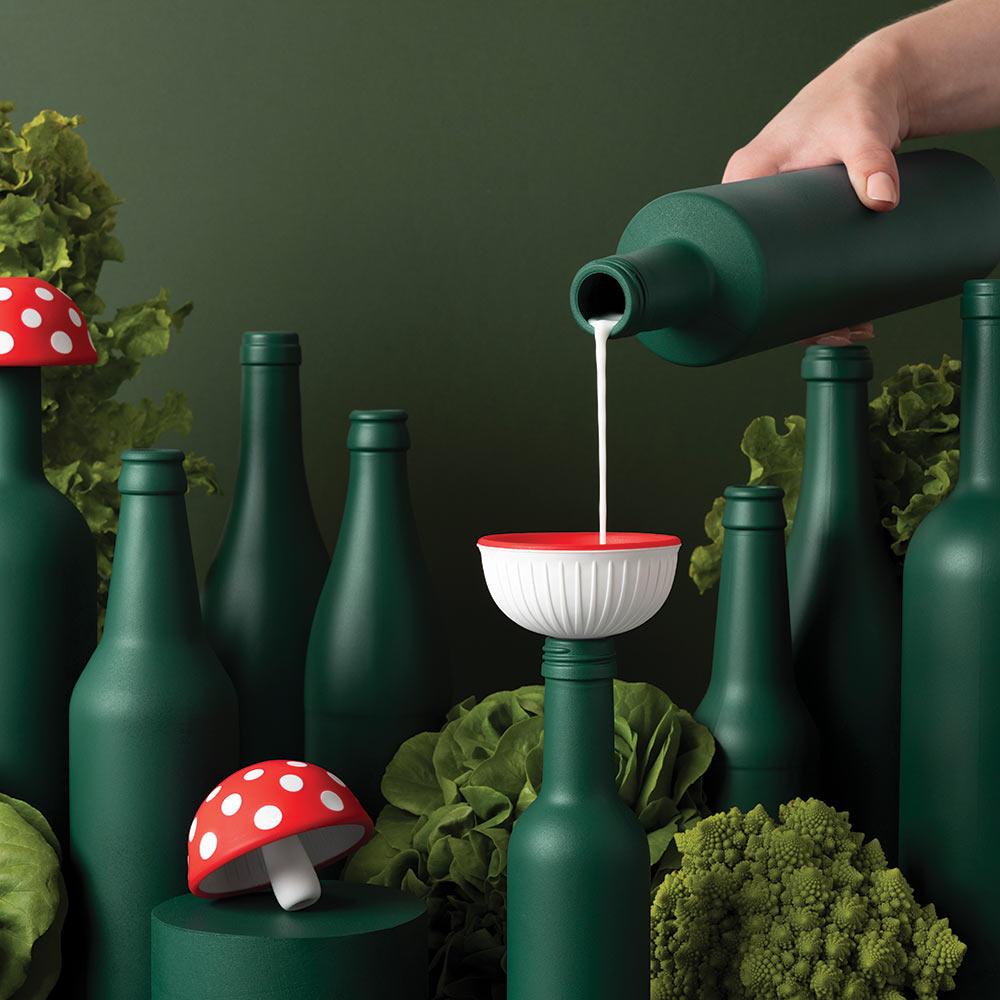 משפך בעיצוב פטריה  Magic Mushroom