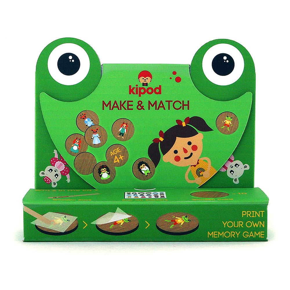 משחק זכרון ויצירה Make & Match