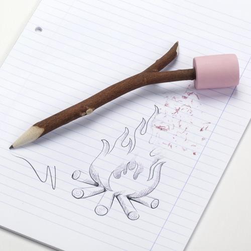 מרשמלו עיפרון ומחק