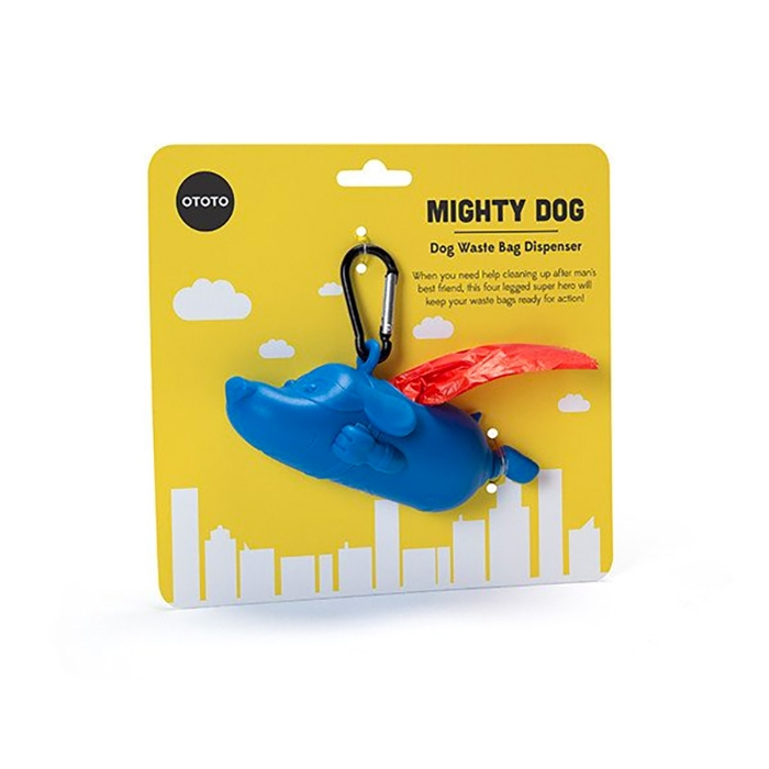 מתקן לשקיות איסוף Mighty Dog