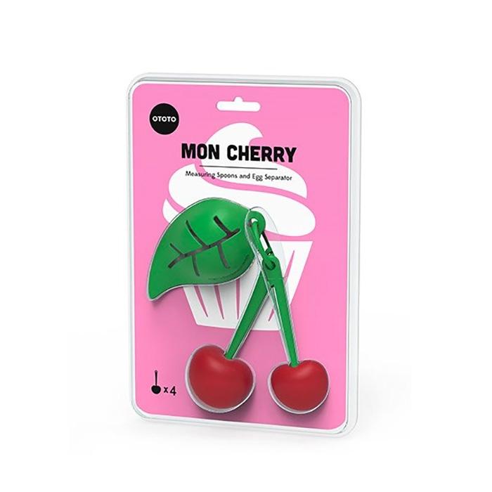 כפיות מדידה ומפריד חלמון Mon Cherry