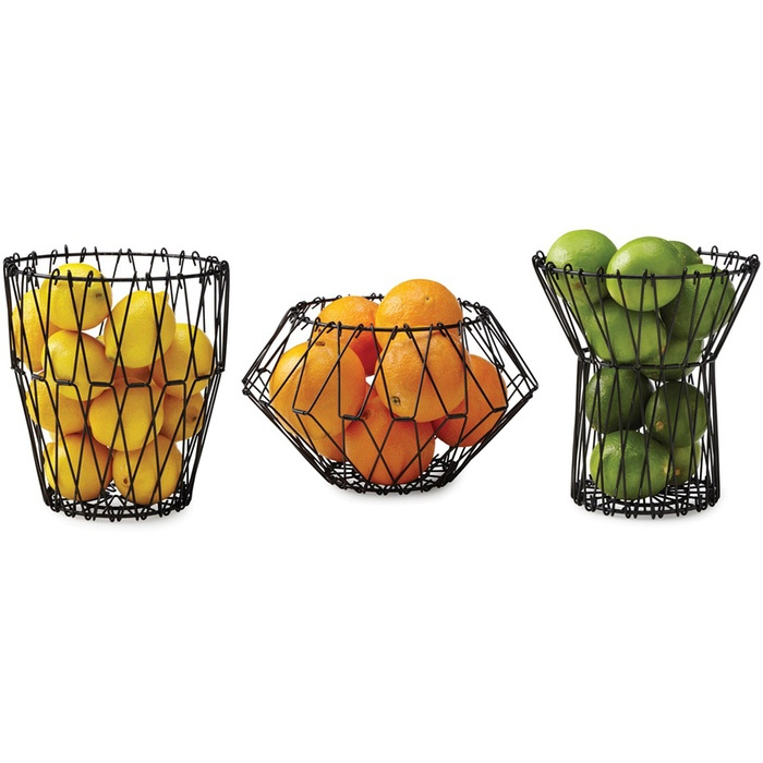 סלסלת פירות משנה צורה Multi Form Black