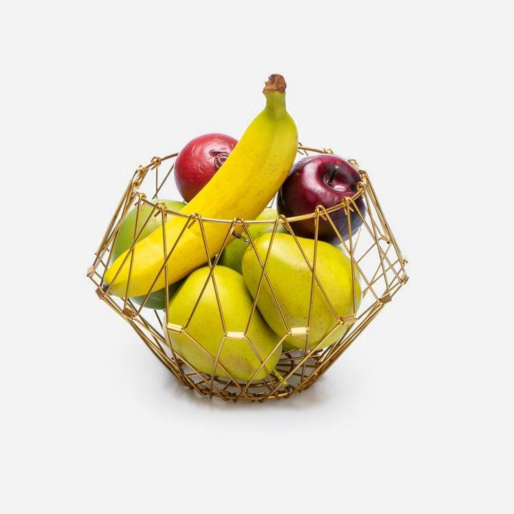 סלסלת פירות משנה צורה Multi Form Gold