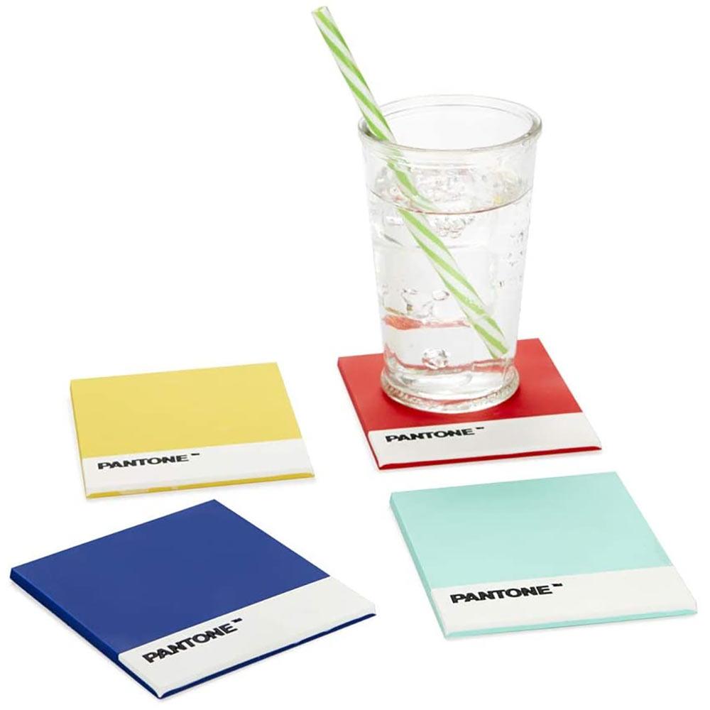 תחתיות לכוסות צבעי פנטון - סט של 4 Pantone Coasters