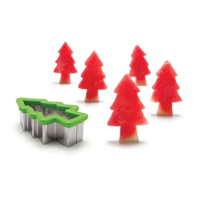 חותכן אבטיח בצורת עץ Pepo Forest