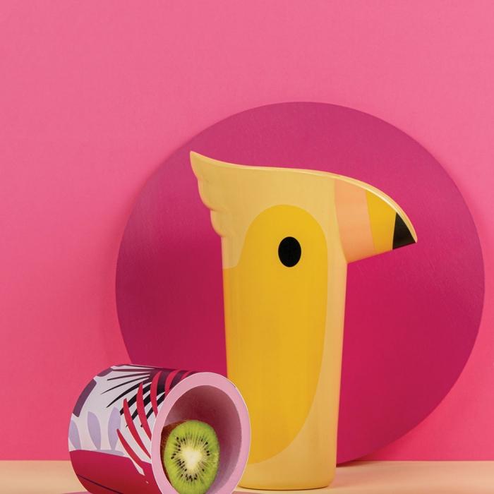 קנקן שתייה פולי צהוב Polly