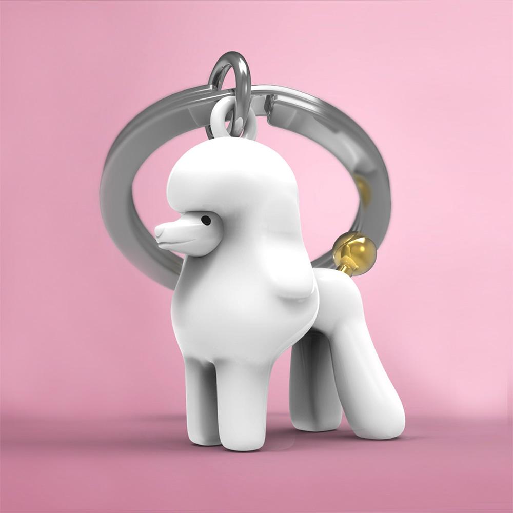 מחזיק מפתחות כלב פודל