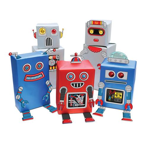 אריזות מתנה - רובוטים
