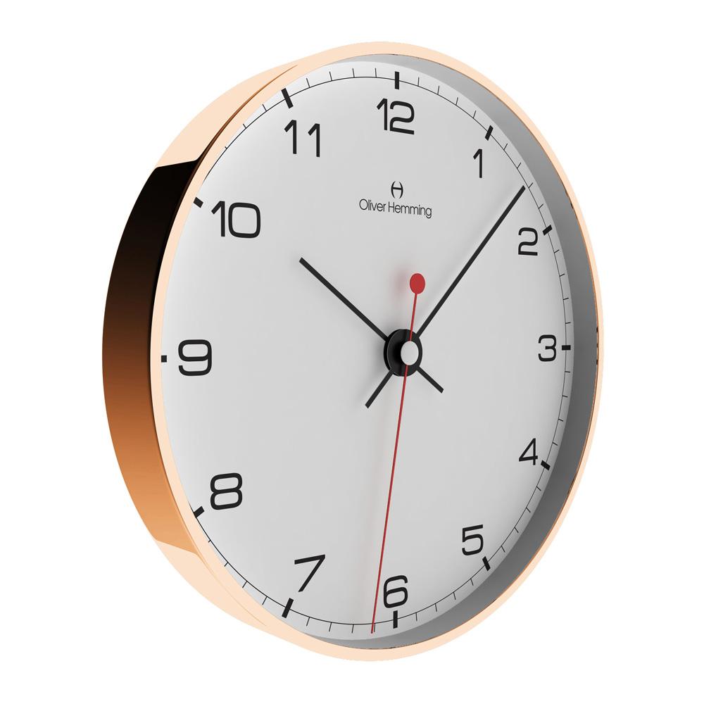 שעון קיר Rose Gold