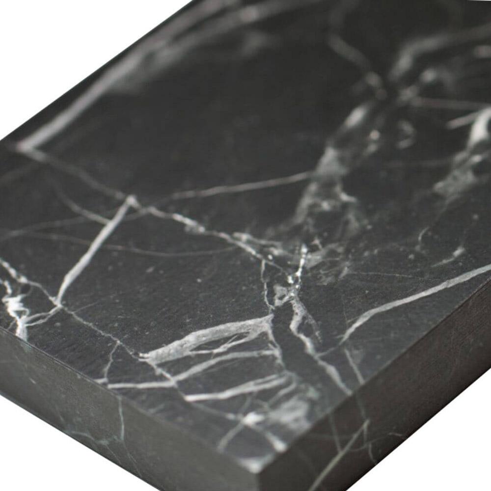 מחברת מעוצבת כלוח שיש שחור Slab Nero Marble A6