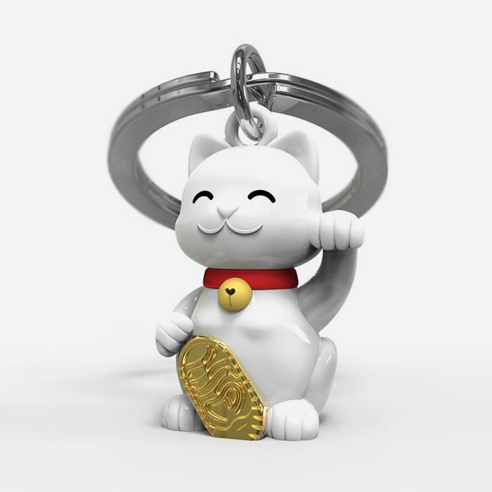 מחזיק מפתחות חתול מזל