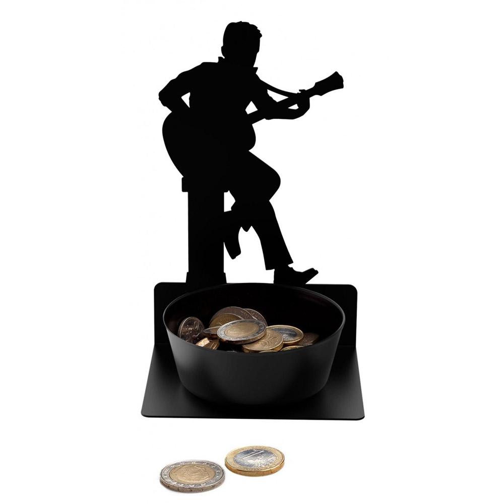 מתקן לכסף קטן גיטריסט  Spare Some Change