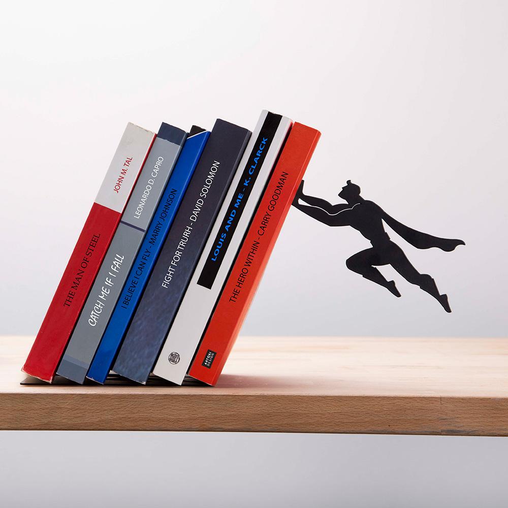 Book & Hero תומך ספרים גיבור על