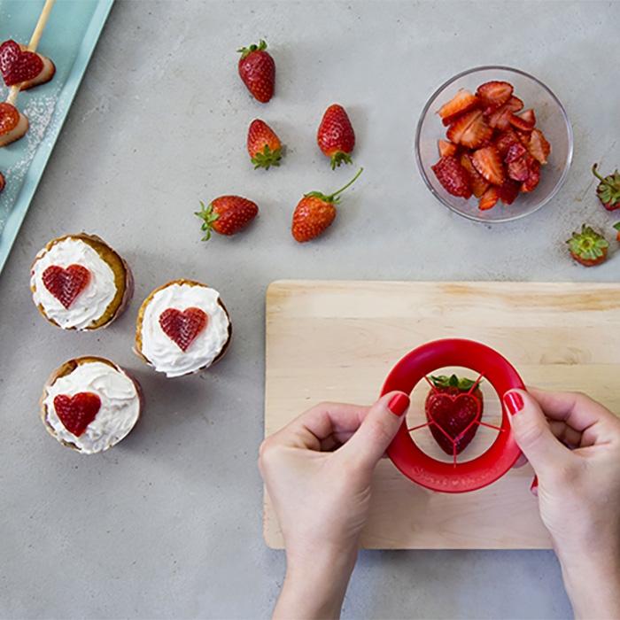 חותכן תותים Sweet Heart