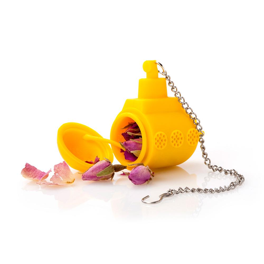 צוללתה - מסננת תיון צוללת צהובה