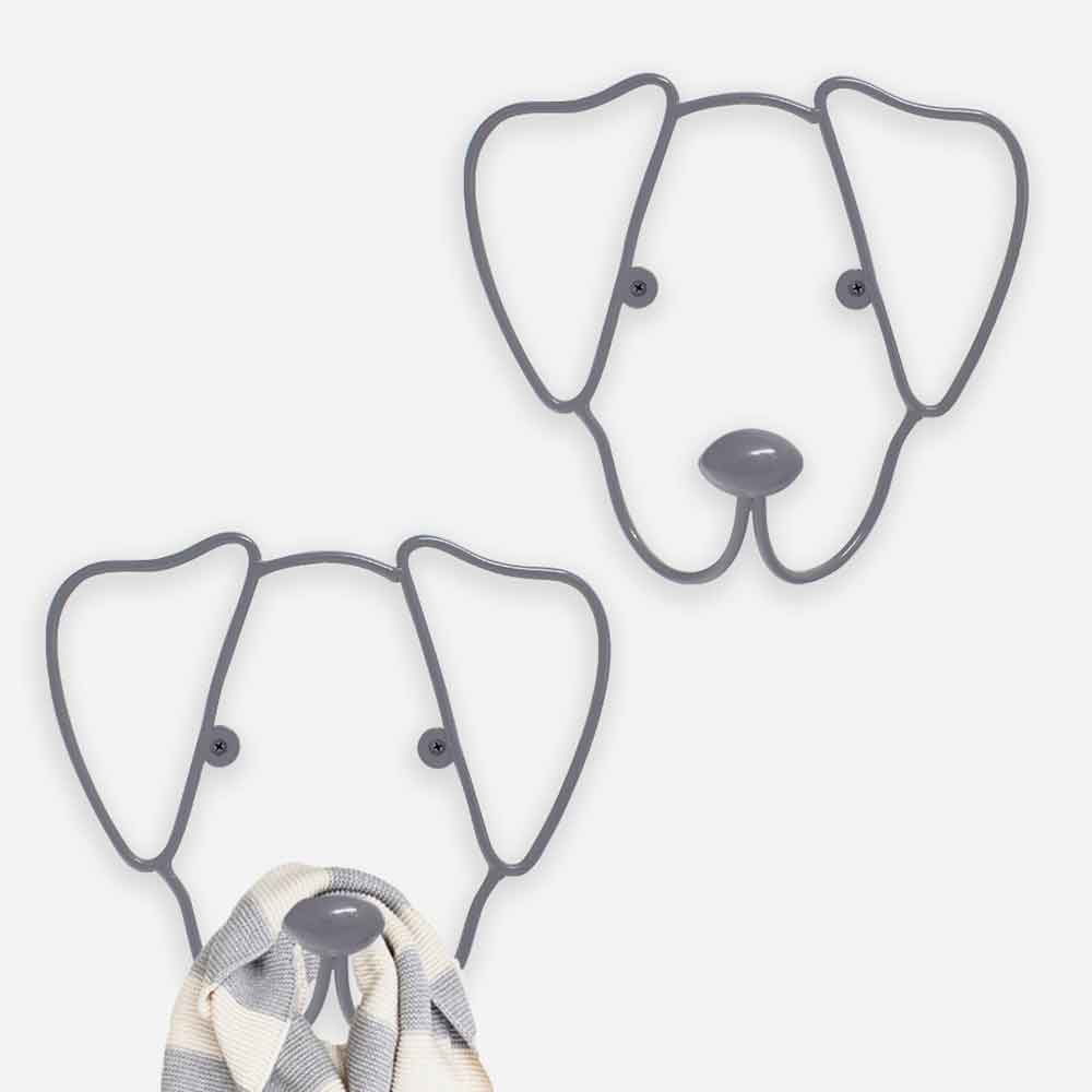 זוג מתלי כלבים מתוקים The Dog