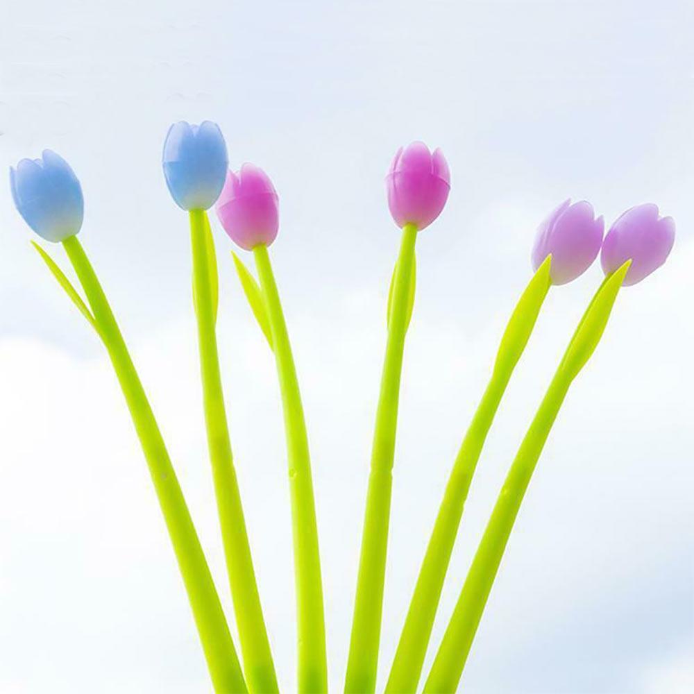 עט פרח משנה צבע באור השמש - סט של 3